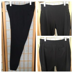 Athleta Black Athletic Activewear Pants SZ 8